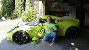 Zen Dude and his Krypton Green Lotus Elise